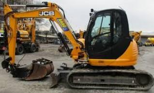 8T JCB Excavator 1
