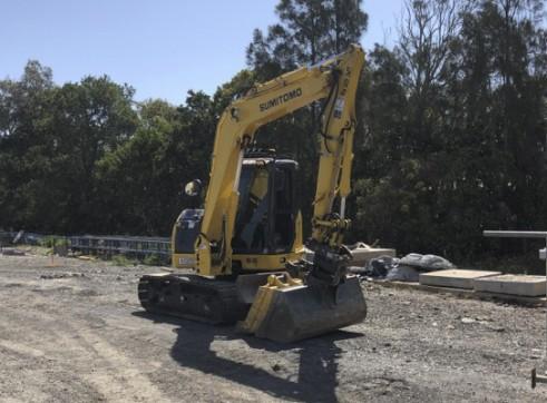 8T Sumitomo Excavator 2