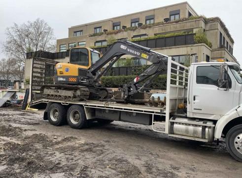 8T Volvo ECR88 Zero Swing Excavator