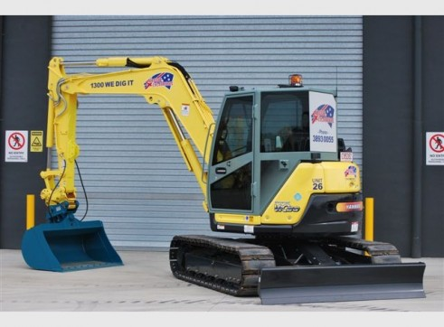 8T VR080 Yanmar Excavator - Mine Spec - Late Model - Many Available 3