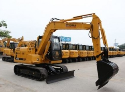 8T XG809E Excavator 6