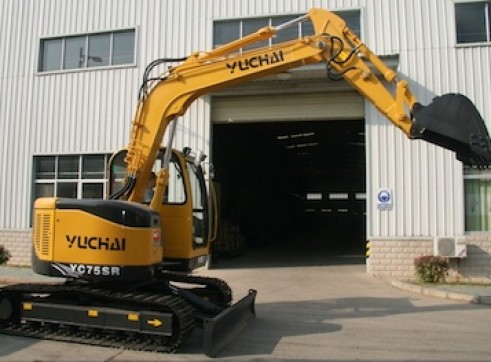 8t Yuchai YC75SR - Zero Swing 1