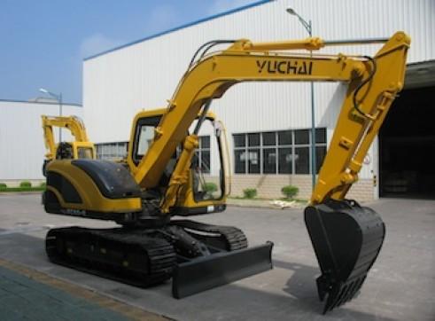 8T Yuchai YC85-8 - 8 Tonne Excavator 1