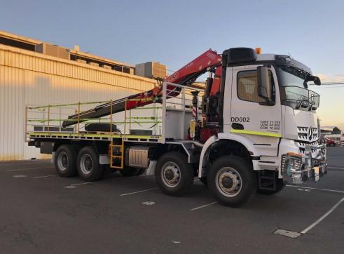 8x8 Mercedes-Benz Arocs Crane Truck 1