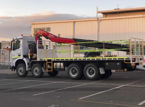 8x8 Mercedes-Benz Arocs Crane Truck 2