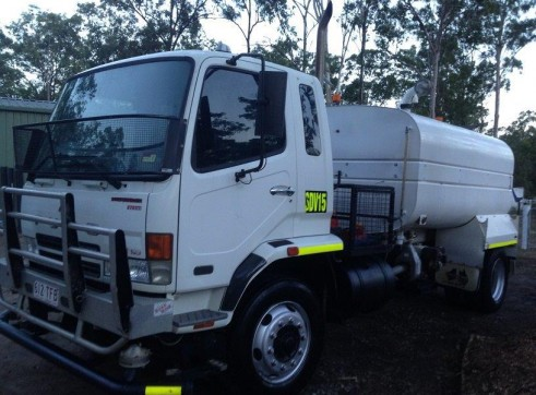9,000L Water Truck 1