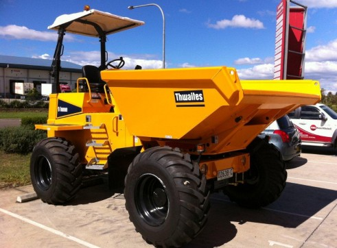 9 Tonne Articulated Mini Site Dumper 1