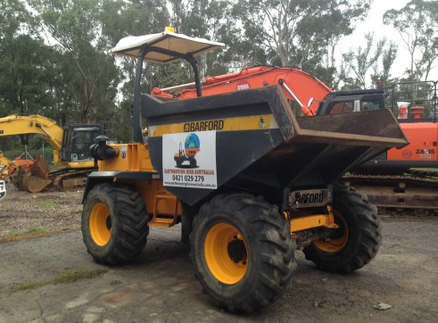 9 Tonne Articulated Mini Site Dumper 3