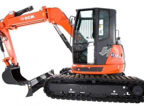 9.5T ECM ES95 UR Excavator 1