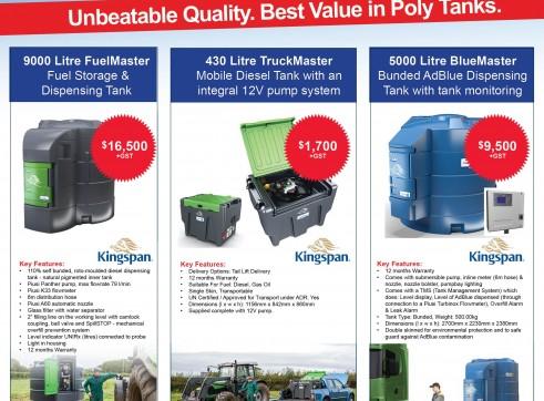9000 Litre FuelMaster  Fuel Storage & Dispensing Tank 7
