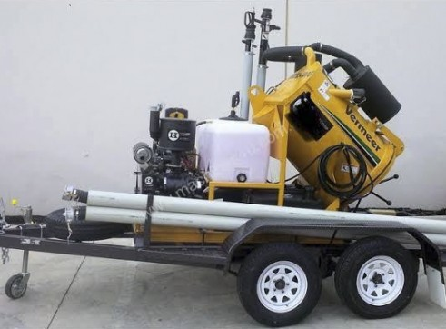 900L Vacuum Excavation Trailer