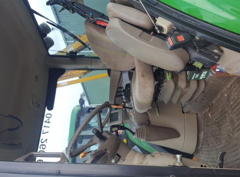 90HP 4WD Tractor w/front 3 point link, reach mower, mulcher... 2