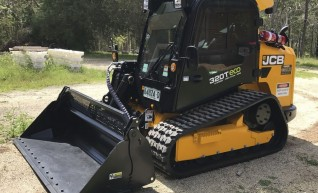 95HP JCB 320eco Tracked Skidsteer 1