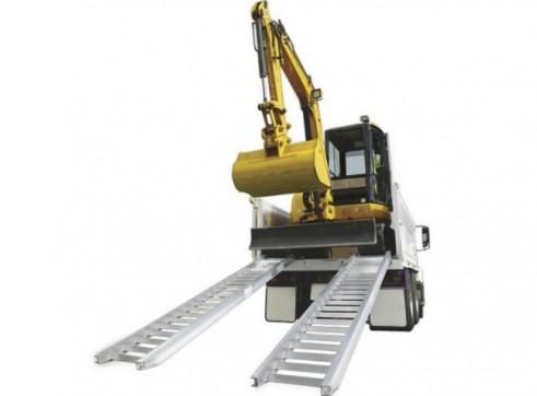 9t Loading Ramps - Aluminium
