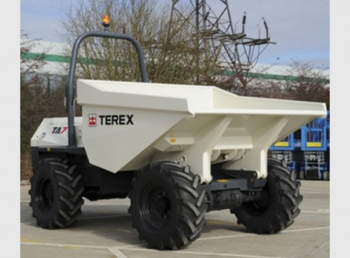 9T Terex Site Dumpers 1