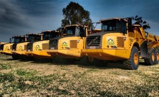 A25D and A30D Volvo Articulated Dump Trucks 1