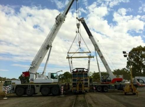 AC100T Slew Crane 3