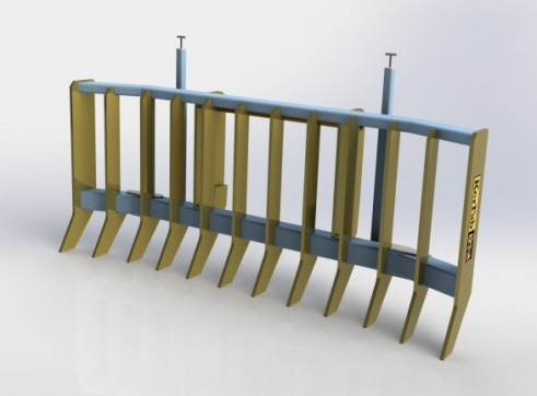Ag Loader Stick Rake 1