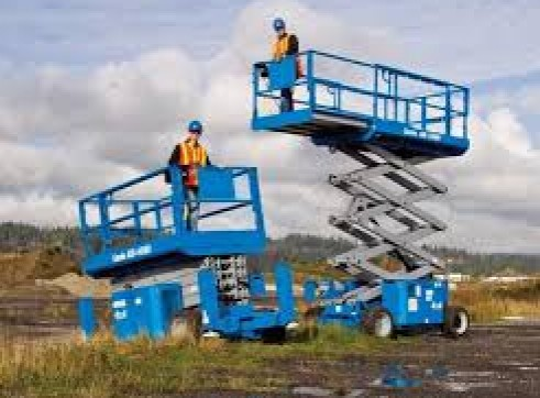 Rough Terrain Scissor Lifts Rentals 1