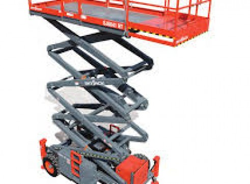 Rough Terrain Scissor Lifts Rentals 2