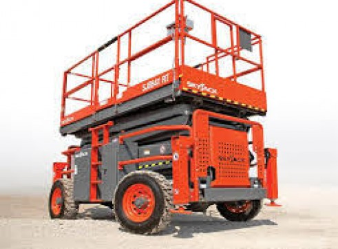 Rough Terrain Scissor Lifts Rentals 3