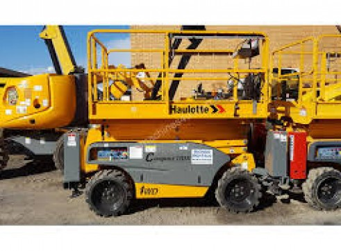 Rough Terrain Scissor Lifts Rentals 4