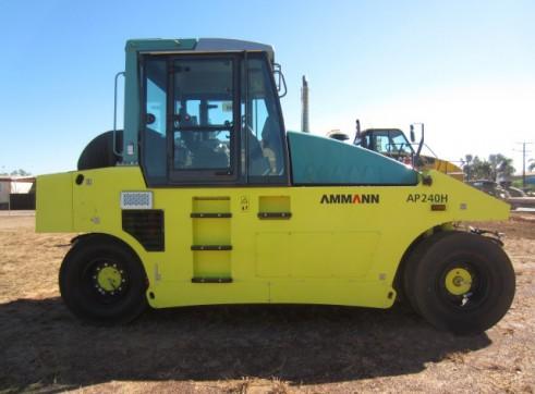 Ammann AP240H Pneumatic Tyred Roller  2