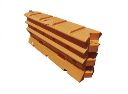 Armorzone 2m Plastic Crash Barrier 1