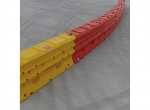 Armorzone 2m Plastic Crash Barrier 4