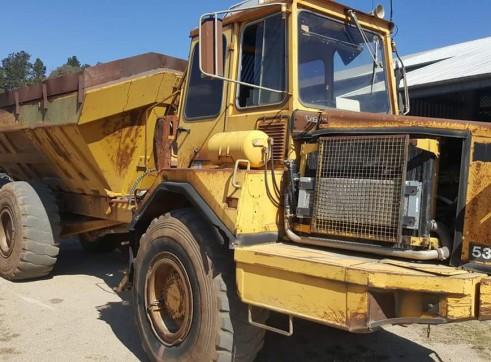 Articulated dump truck 1