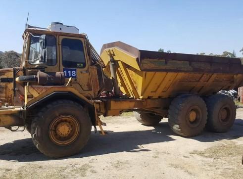 Articulated dump truck 2