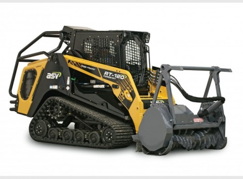 ASV RT-120 / RT-120 Forestry Posi-Track Skid Steer  (formerly Terex PT-100G / PT-110)