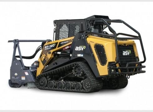 ASV RT-120 / RT-120 Forestry Posi-Track Skid Steer  (formerly Terex PT-100G / PT-110) 2
