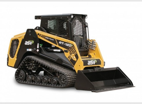 ASV RT-120 / RT-120 Forestry Posi-Track Skid Steer  (formerly Terex PT-100G / PT-110) 3