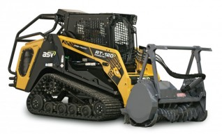 ASV RT-120 / RT-120 Forestry Posi-Track Skid Steer (formerly Terex PT-100G / PT-110) 1
