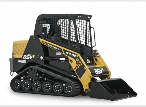 ASV RT-30 Posi-Track Skid Steer Loader (formerly Terex PT-30 Positrack) 1