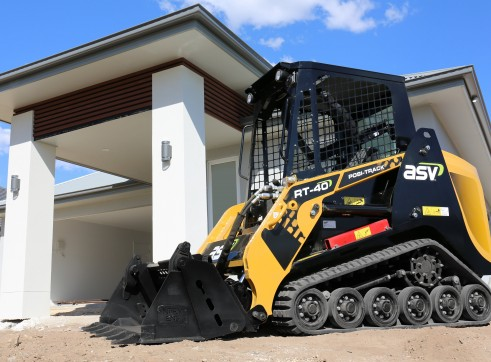 ASV RT-40 Posi-Track Skid Steer Loaders 6