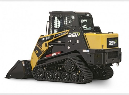 ASV RT-50T / RT-60 Posi-Track Skid Steer Loaders (formerly Terex PT-50 / PT-60) 2
