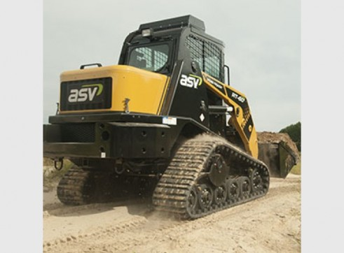 ASV RT-50T / RT-60 Posi-Track Skid Steer Loaders (formerly Terex PT-50 / PT-60) 4