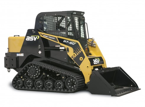 ASV RT-50T / RT-60 Posi-Track Skid Steer Loaders (formerly Terex PT-50 / PT-60) Tracked Skid Steer