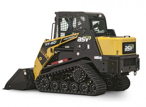 ASV RT-50T / RT-60 Posi-Track Skid Steer Loaders (formerly Terex PT-50 / PT-60) Tracked Skid Steer 2