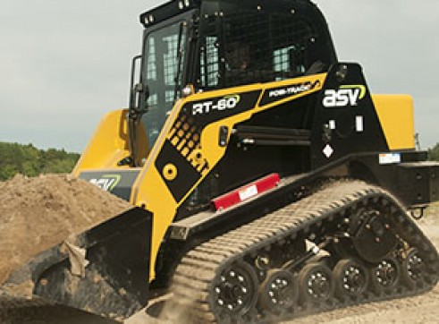 ASV RT-50T / RT-60 Posi-Track Skid Steer Loaders (formerly Terex PT-50 / PT-60) Tracked Skid Steer 3