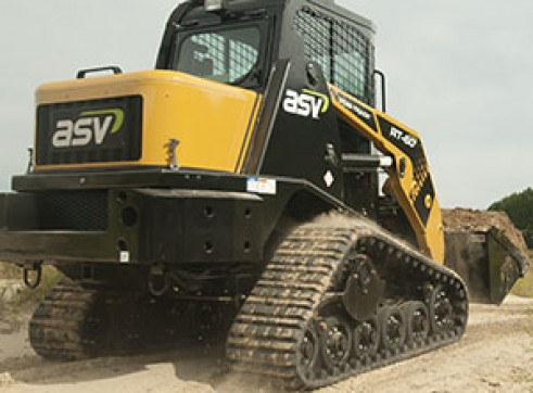 ASV RT-50T / RT-60 Posi-Track Skid Steer Loaders (formerly Terex PT-50 / PT-60) Tracked Skid Steer 4