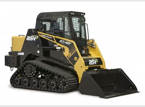 ASV RT-60 2-Speed Posi-Track Skid Steer Loader (formerly Terex PT-60 Positrack)