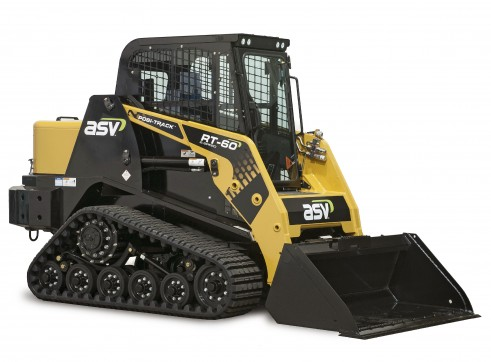 ASV RT-60 2-Speed Posi-Track Skid Steer Loader (formerly Terex PT-60)