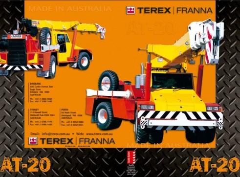 AT-20 Terex Franna Crane 2