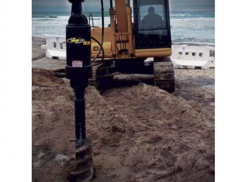 Auger Drive - Suits 10t - 20t Excavator 2