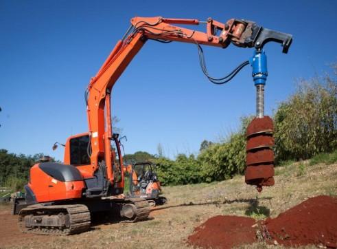 Auger Drive Unit - suit 20T Excavator 2