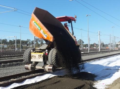 Ausa 10 ton hi-rail dumpers 1