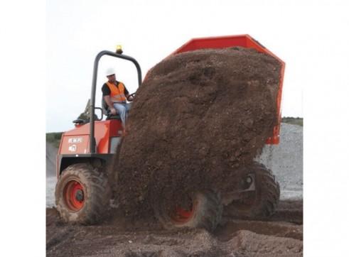 Ausa Site Dumper - 10t Swivel Dump Truck 3